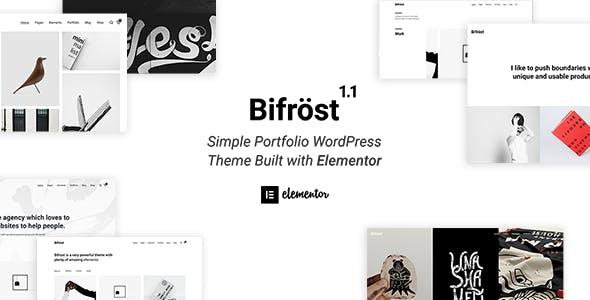Tema Bifrost - Template WordPress