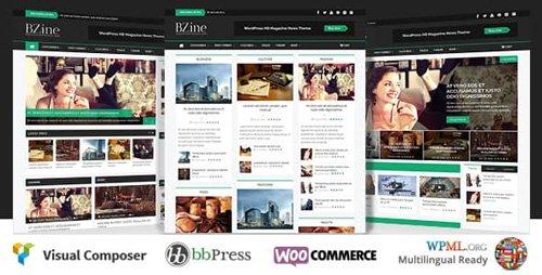 Tema Bzine - Template WordPress