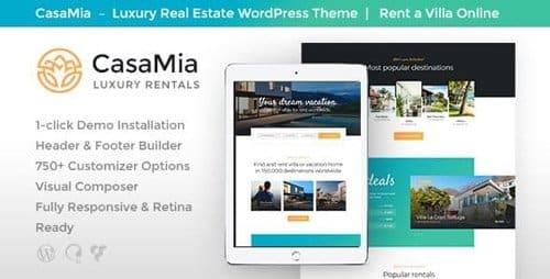 Tema Casamia - Template WordPress