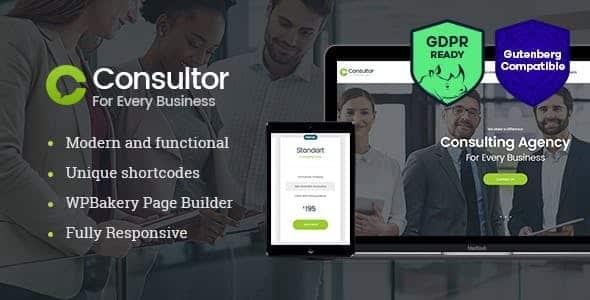 Tema Consultor - Template WordPress