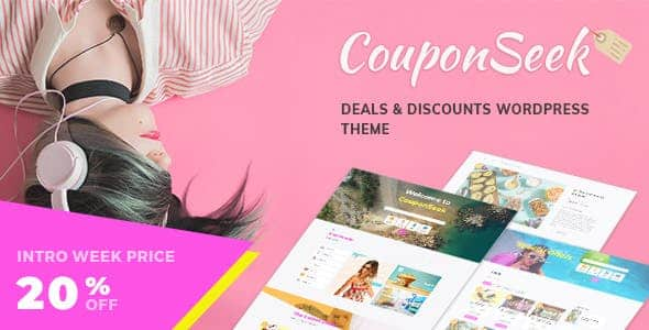 Tema CouponSeek - Template WordPress