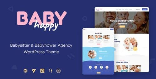 Tema Happy Baby - Template WordPress