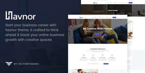 Tema Havnor - Template WordPress