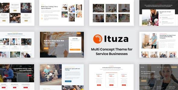 Tema Ituza - Template WordPress