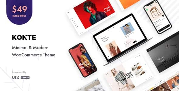 Tema Konte - Template WordPress