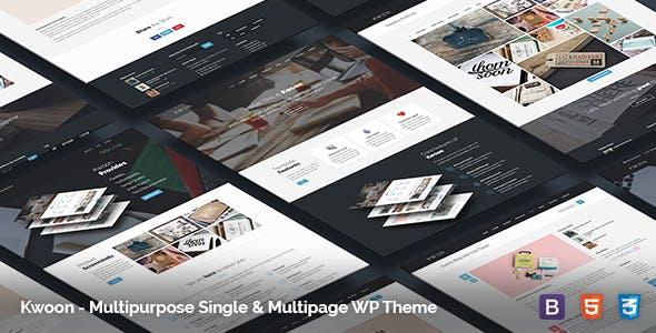 Tema Kwoon - Template WordPress