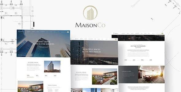 Tema MaisonCo - Template WordPress