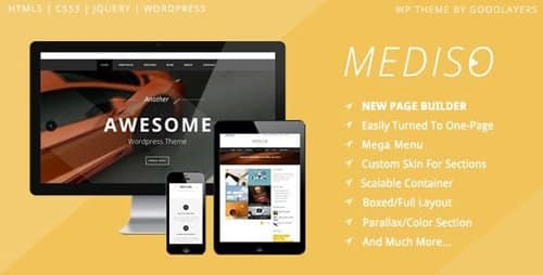 Tema Mediso - Template WordPress