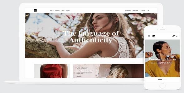 Tema Millennio - Template WordPress