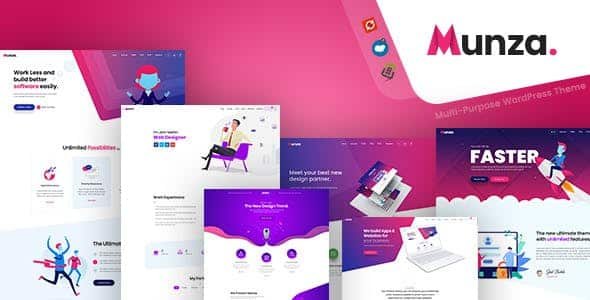 Tema Munza - Template WordPress