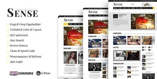 Tema Sense - Template WordPress