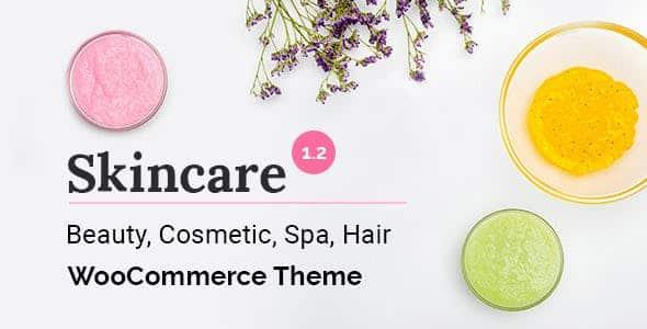 Tema Skincare - Template WordPress