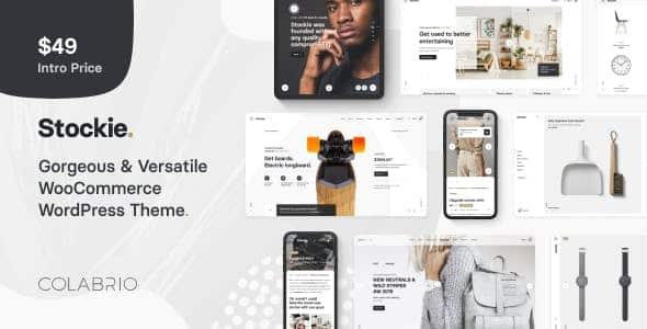 Tema Stockie - Template WordPress