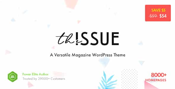 Tema The Issue - Template WordPress