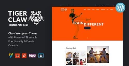 Tema Tiger Claw - Template WordPress