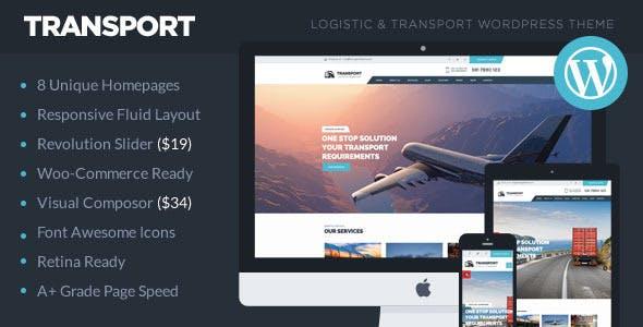 Tema Transport Theemon - Template WordPress