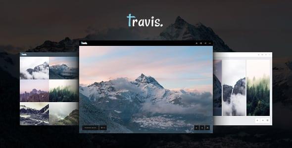 Tema Travis - Template WordPress