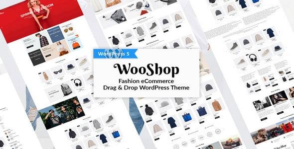 Tema Wooshop CherryTheme - Template WordPress