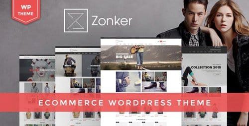 Tema Zonker - Template WordPress