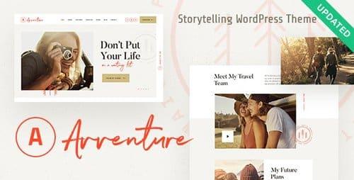 Tema Avventure - Template WordPress