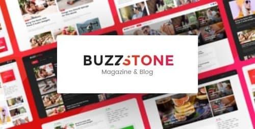 Tema Buzz Stone - Template WordPress