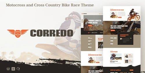 Tema Corredo - Template WordPress