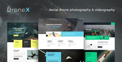 Tema Dronex - Template WordPress