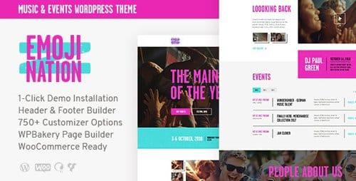 Tema Emojination - Template WordPress