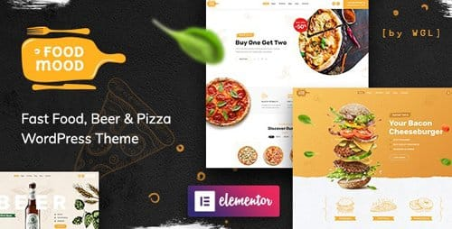Tema Foodmood - Template WordPress