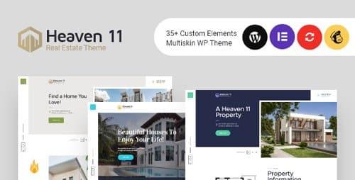 Tema Heaven 11 - Template WordPress