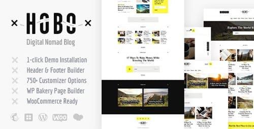 Tema Hobo - Template WordPress