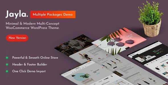 Tema Jayla - Template WordPress