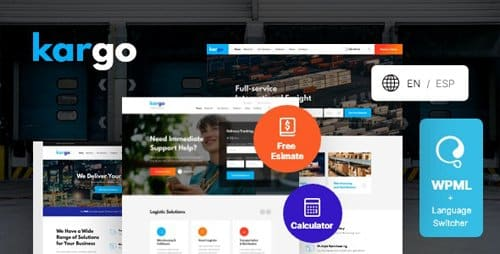 Tema Kargo - Template WordPress