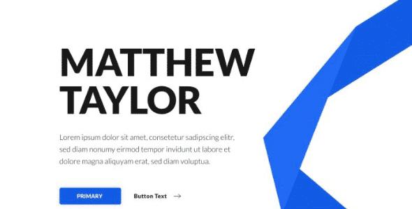Tema Matthew Taylor - Template WordPress