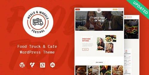Tema Meals Wheels - Template WordPress