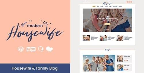 Tema Modern Housewife - Template WordPress