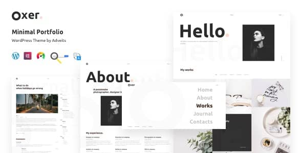 Tema Oxer - Template WordPress