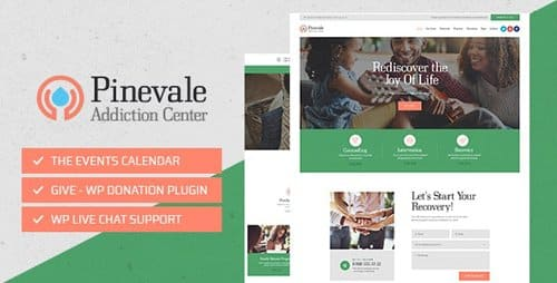 Tema Pinevale - Template WordPress