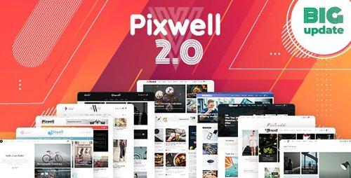 Tema Pixwell - Template WordPress