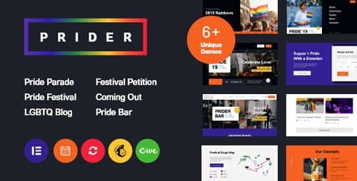Tema Prider - Template WordPress