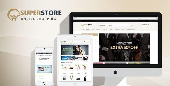 Tema Superstore Opal - Template WordPress
