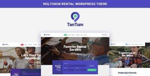 Tema Tan Tum - Template WordPress