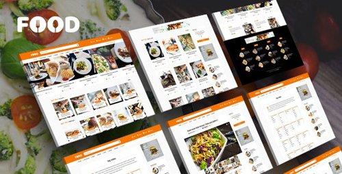 Tema Tasty Food - Template WordPress