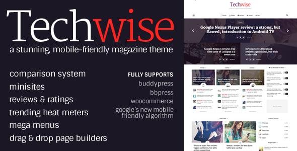 Tema Techwise - Template WordPress