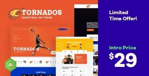Tema Tornados - Template WordPress