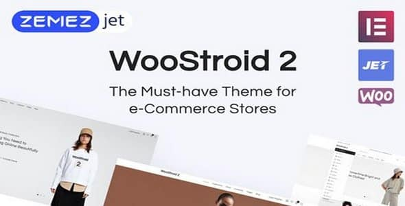Tema Woostroid2 - Template WordPress