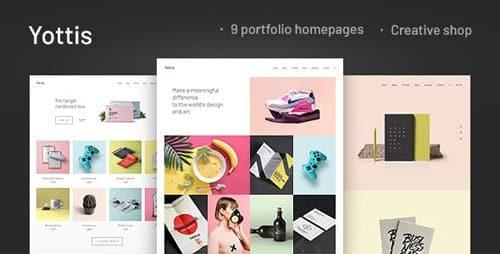 Tema Yottis - Template WordPress