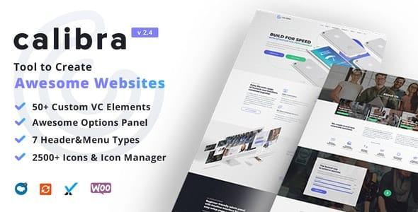 Tema Calibra - Template WordPress