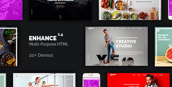 Tema Enhance - Template WordPress