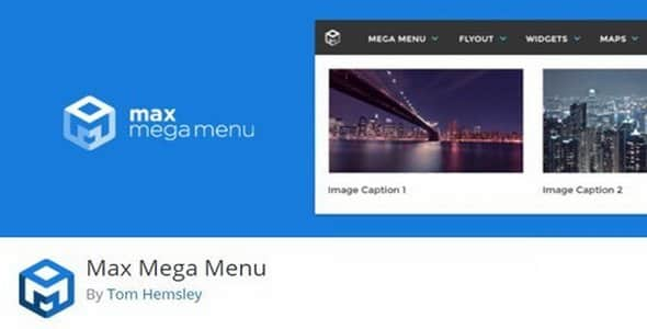 Plugin Max Mega Menu Pro - WordPress